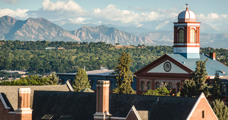 Regis Campus - Photo Credit Brett Stakelin