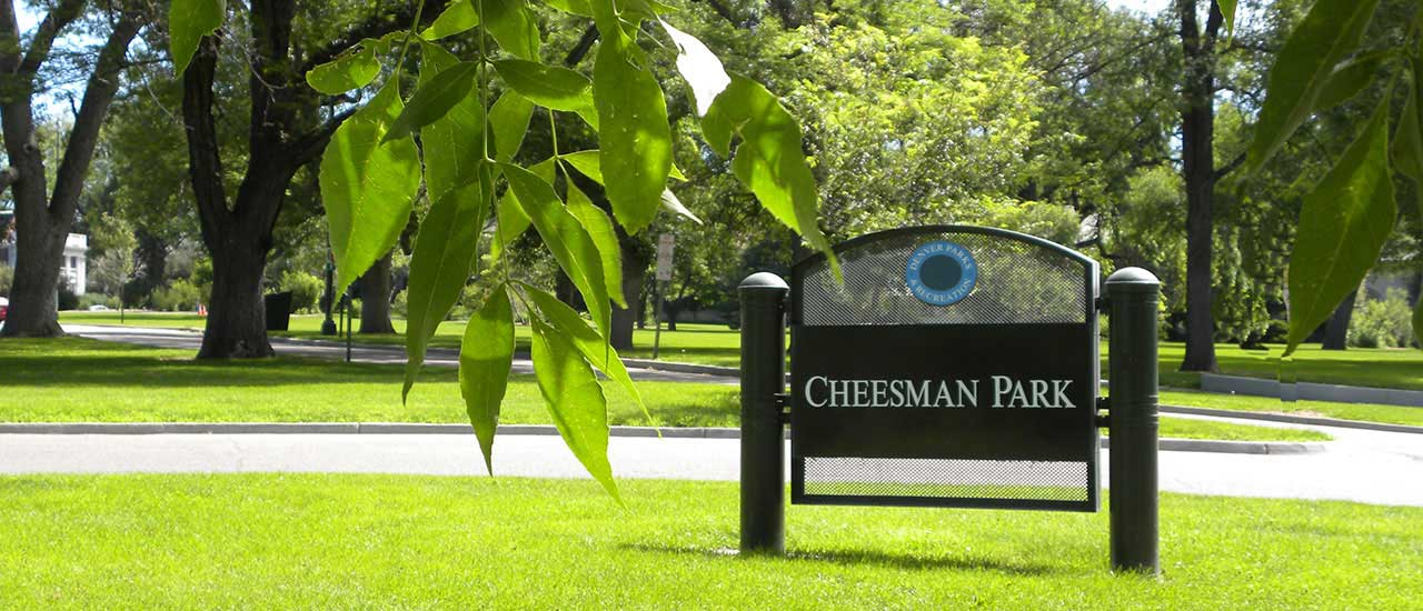 Cheesman Park, near Vine
