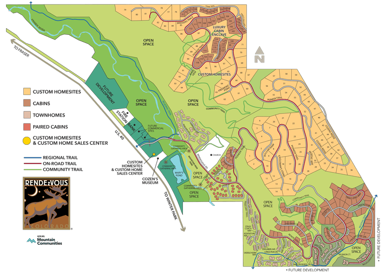 Rendezvous Site Plan