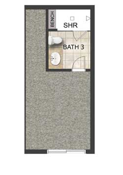 Third Level Bath Option